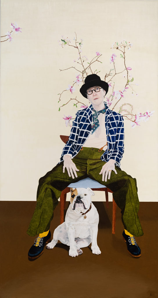Lynn Savery, Self Portrait