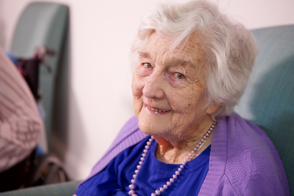 Lady in Aged Care
