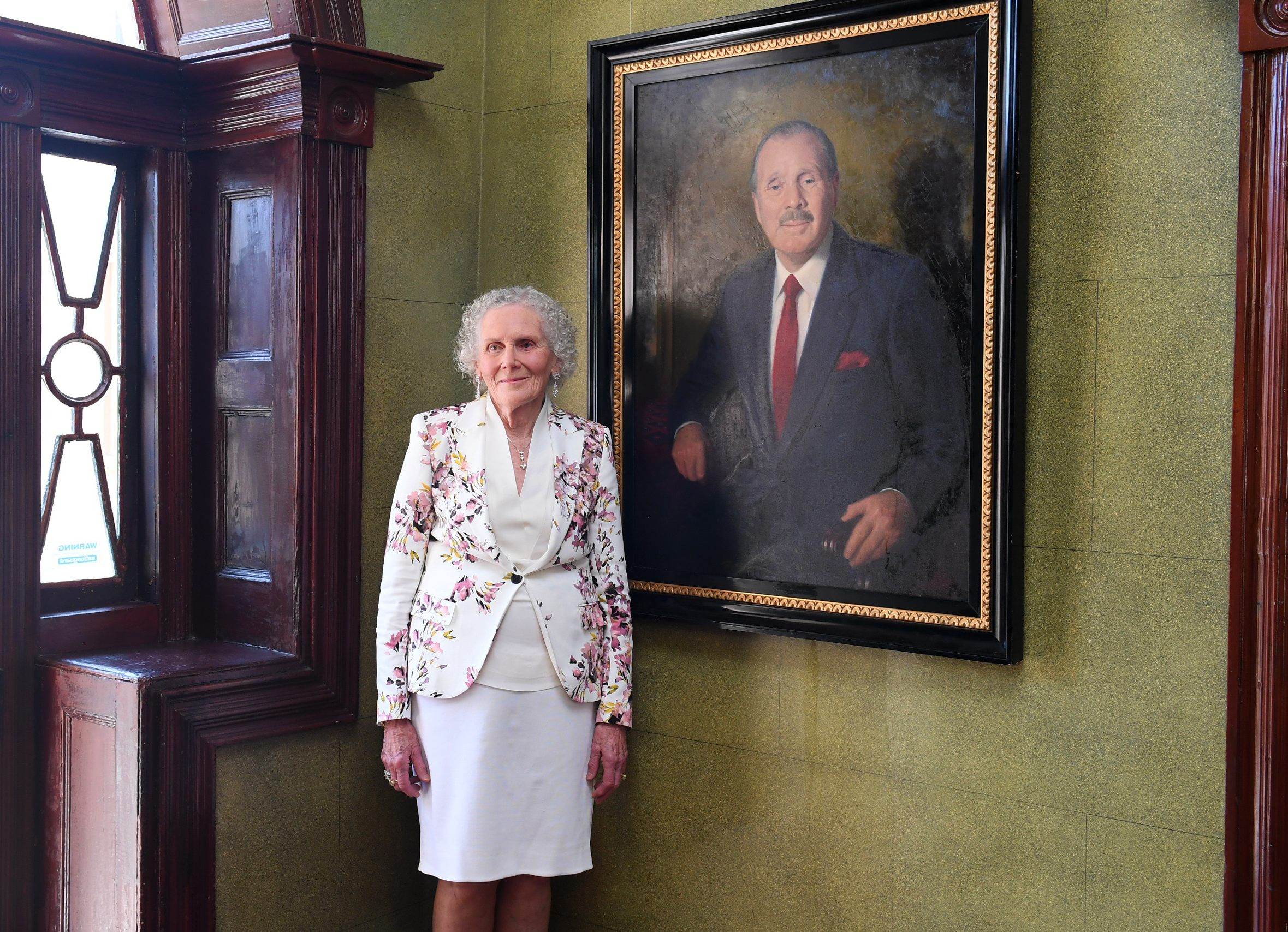 Greta Moran at historic Juniper Hall