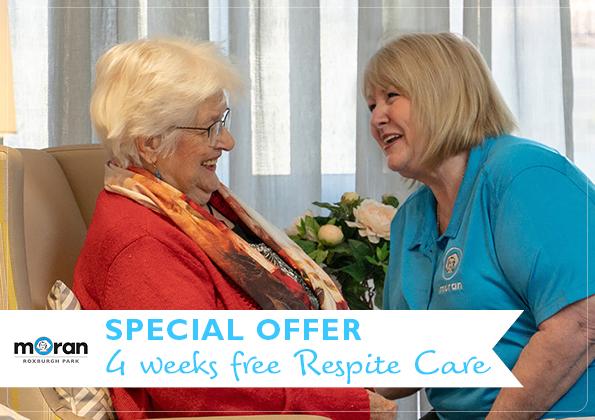 4 weeks free Respite Care